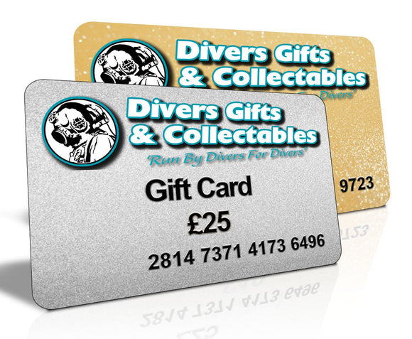 Gift Cards - Divers Gifts
