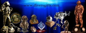 Gifts for scuba, military and commercial divers