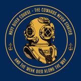 The Cowards never started - T-Shirt (Printed Front and Back) - Divers Gifts