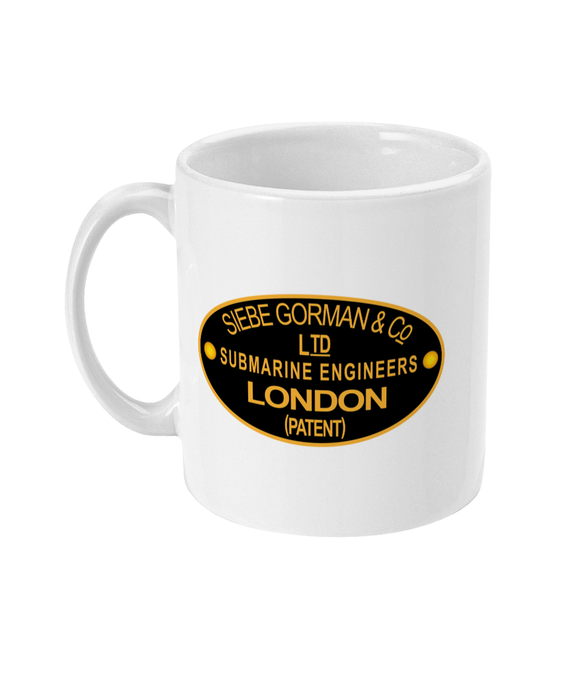 11oz Mug 35 - Siebe Gorman Nameplate - Divers Gifts