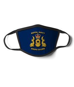 16 - Royal Navy Ships Diver - Blue - Divers Gifts