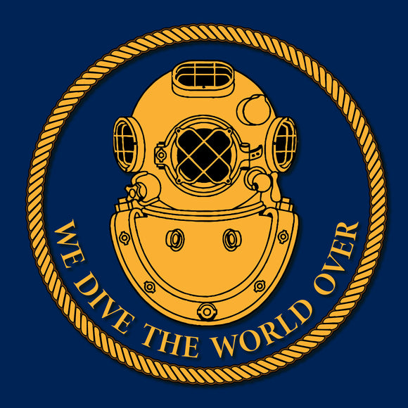 30 - MkV - We dive the world over - Divers Gifts