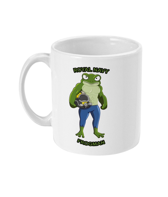 11oz Mug - Royal Navy Frogman - Divers Gifts & Collectables