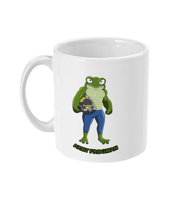 11oz Mug - Army Frogman - Divers Gifts & Collectables