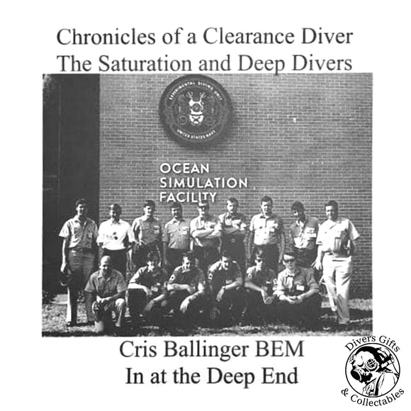 Cris Ballinger - The Saturation and Deep Divers - by Ginge Fullen - Divers Gifts & Collectables