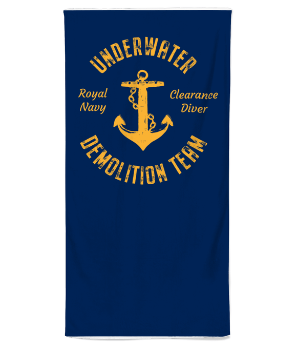 17 - UDT Beach Towel - Divers Gifts & Collectables
