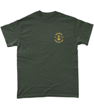 17 - UDT T-Shirt - Anchor Design (Printed Front and Back) - Divers Gifts & Collectables