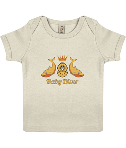 Baby Diver - Baby Top - Divers Gifts & Collectables
