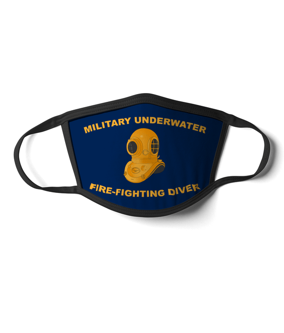 10 - Military Underwater Fire-Fighting Diver - Divers Gifts