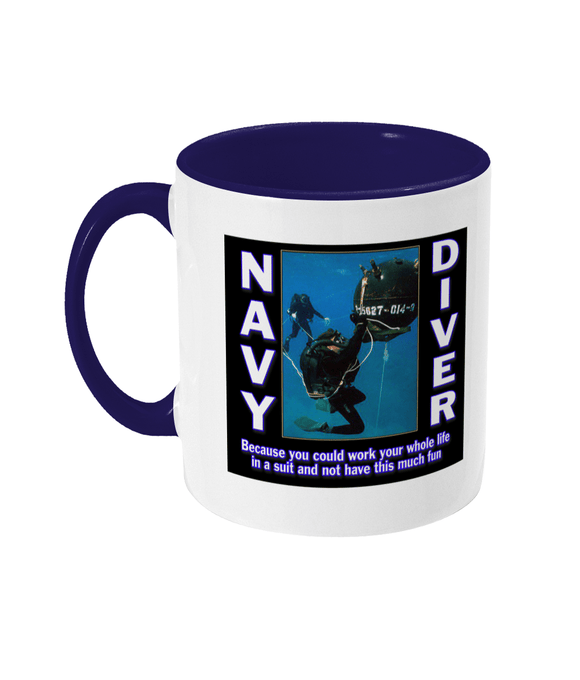 Two Toned Mug - This Much Fun - Divers Gifts & Collectables
