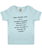 Change my nappy - Baby Top - Divers Gifts & Collectables