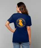 26 - Maritime Underwater Fire Fighting Diver - T-Shirt (Printed Front and Back) - Divers Gifts & Collectables