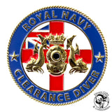 02 - Royal Navy Clearance Diver Challenge Coin - Divers Gifts & Collectables