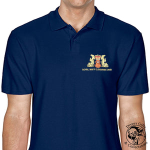 Royal Navy Clearance Diver Embroidered Polo-Shirt - Divers Gifts & Collectables