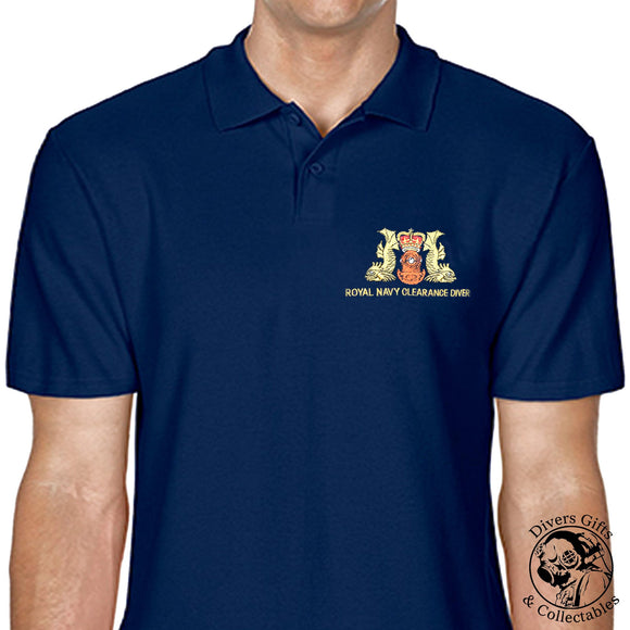 Royal Navy Clearance Diver Polo-Shirt - Divers Gifts & Collectables