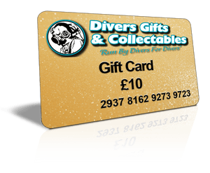 Gift Card - Divers Gifts & Collectables
