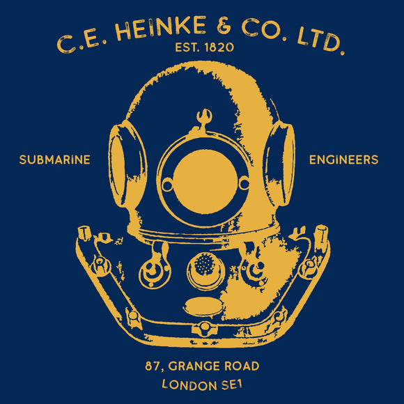 31 - Heinke Logo (Printed Front and Back) - Divers Gifts