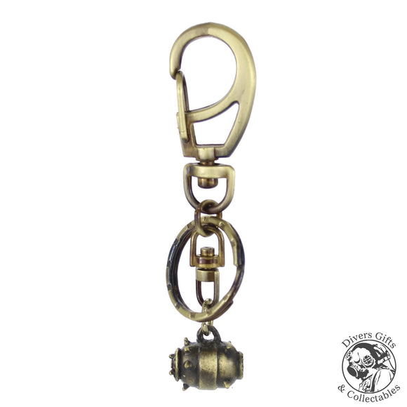 KR-13-AB - Sea Mine Keyring - Divers Gifts & Collectables