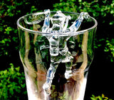GMD-23d Climbing Kirby Morgan Commercial Diver for Beer Glass (Clear) - Divers Gifts & Collectables