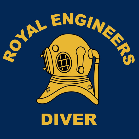 Royal Engineers Diver - Embroidered Stanley Dedicator Polo-Shirt