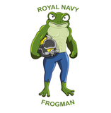Royal Navy Frogman - T-Shirt - Divers Gifts & Collectables