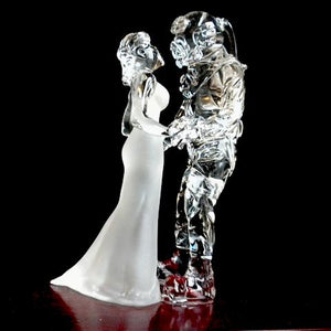 GMD-40 US Navy MkV Diver with Bride (Standing version) - Divers Gifts
