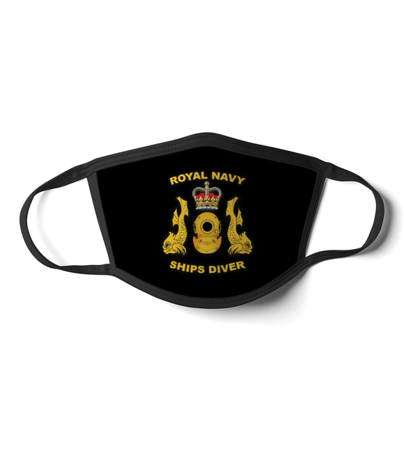 16 - Royal Navy Ships Diver - Black - Divers Gifts