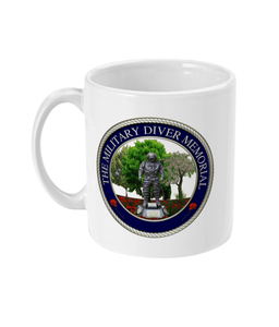 11oz Mug - Military Diver Memorial - Divers Gifts