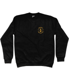 17 - Sweatshirt - UDT Crest Design (Printed Front and Back)