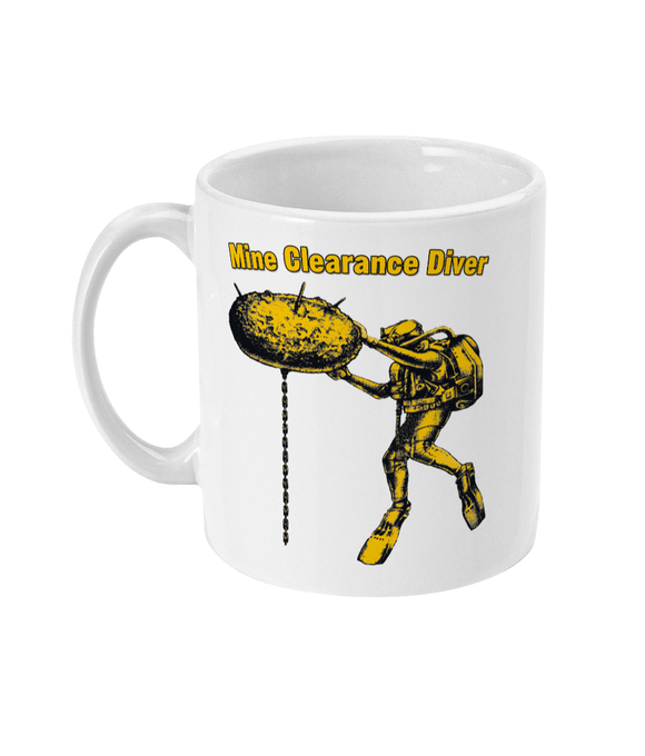 11oz Mug - Mine Clearance Diver - Divers Gifts & Collectables