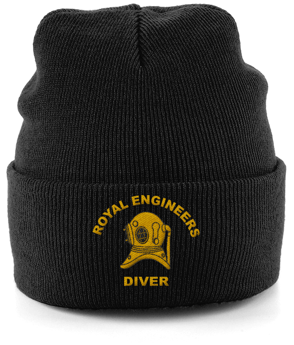 Royal Engineers Diver - Cuffed-Beanie