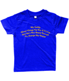 My Daddy Blows Things Up For A Living - T-Shirt - Divers Gifts & Collectables