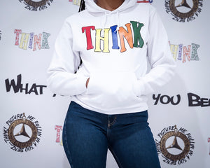 "What you THINK you become ""Bandanna"" Women's Hoodie"