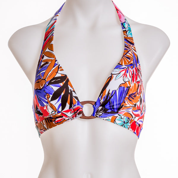 Huit Patchoulli Triangle Bikini Top - Little Intimates Lingerie