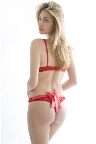 Mimi Holliday Frappé Back Bow Thong