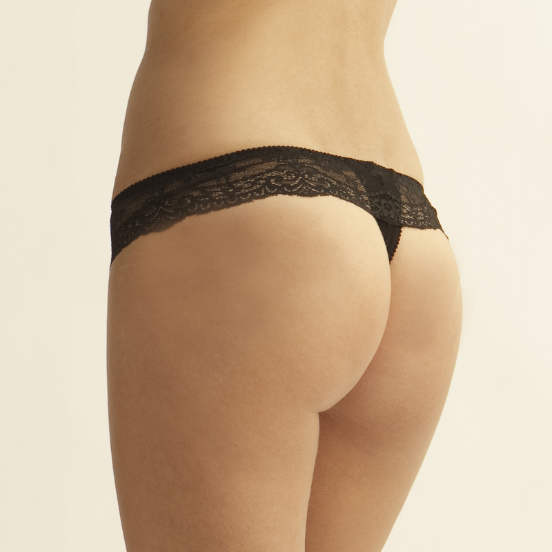 The Little Bra Company (Back Order) Lucia Thong - Little Intimates Lingerie
