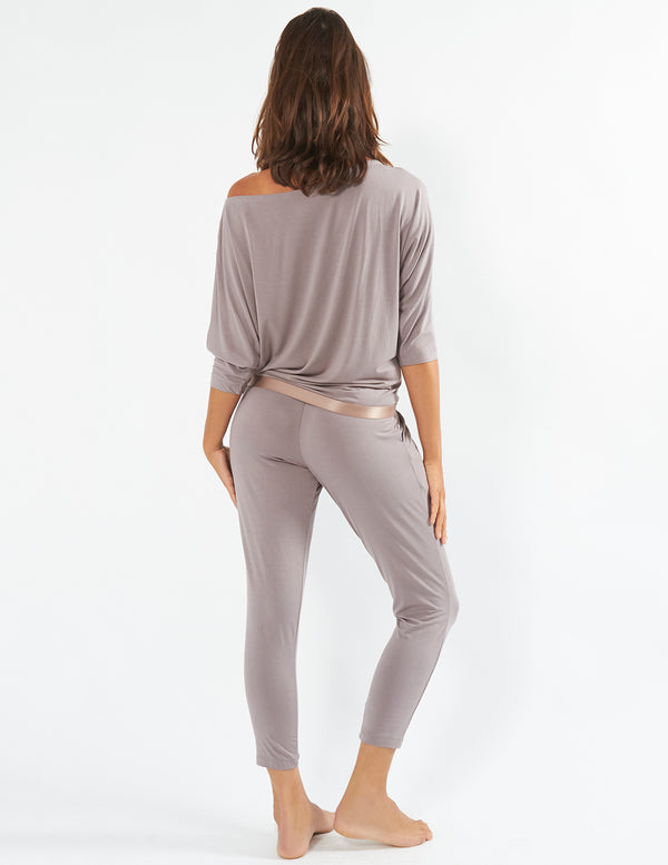 Mocha Choca Latte Slouch Pants - Mimi Holliday (L Only)