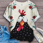 Chicken Fabulous Unique Design Art T-Shirt 10