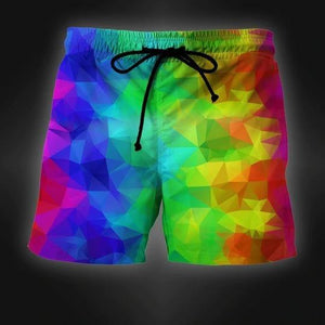 LGBT - CUSTOM Beach Short - SWIM TRUNKS