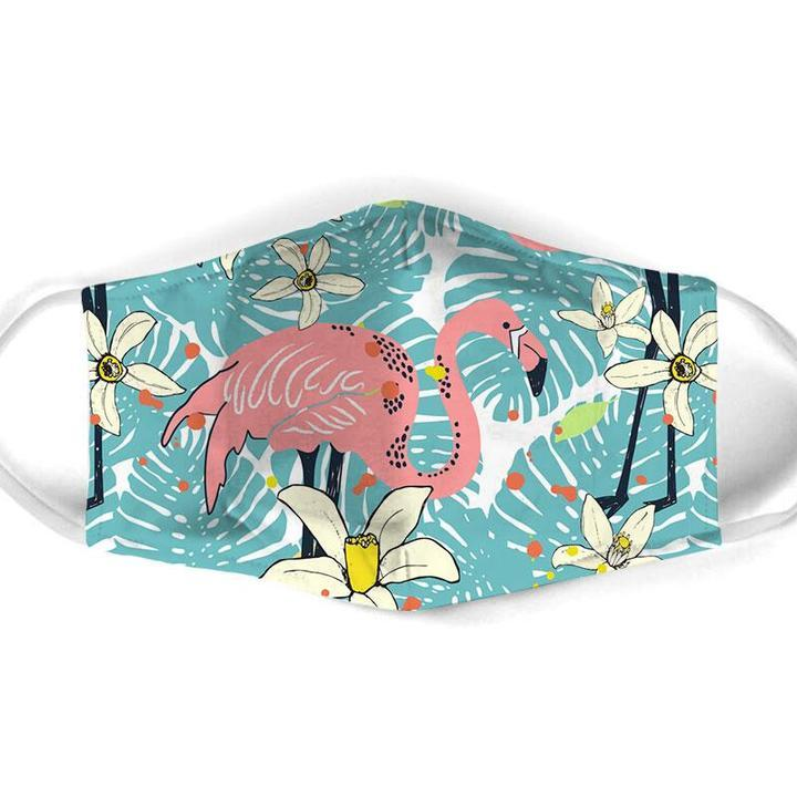 FLAMINGO ALL OVER MAsk 1