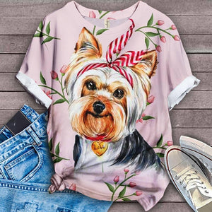 Yorkshire Terrier Lovely Cutie T-SHIRT 2