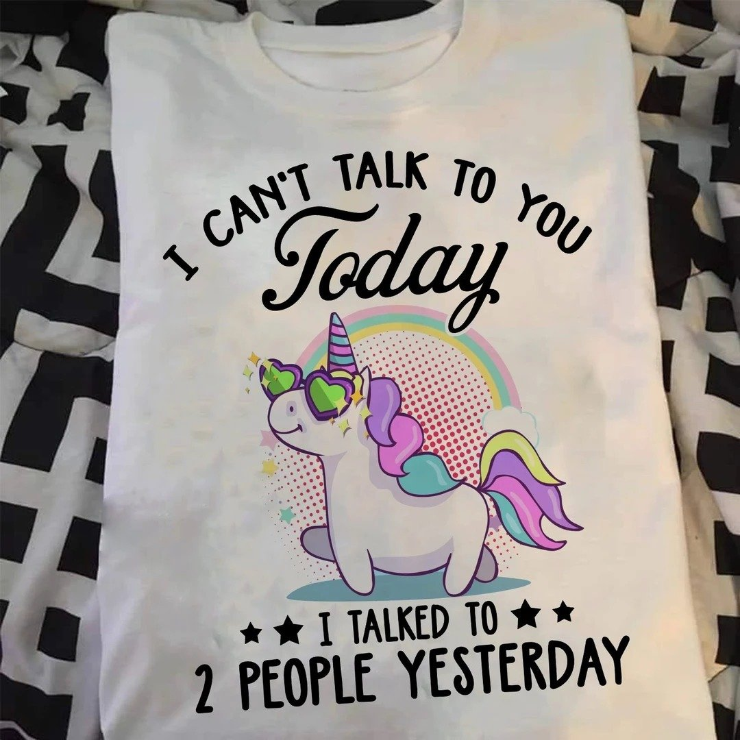 Unicorn - I can't talk to you today