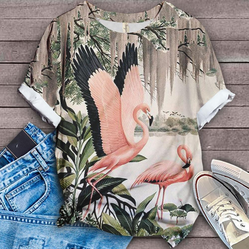 Flamingo Lovers Classic T-Shirt 37