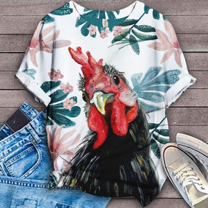 Chicken Fabulous Unique Design Art T-Shirt 23