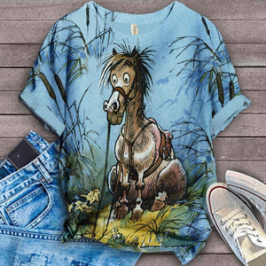 Horse Lovers Gorgeous Art T-Shirt 20