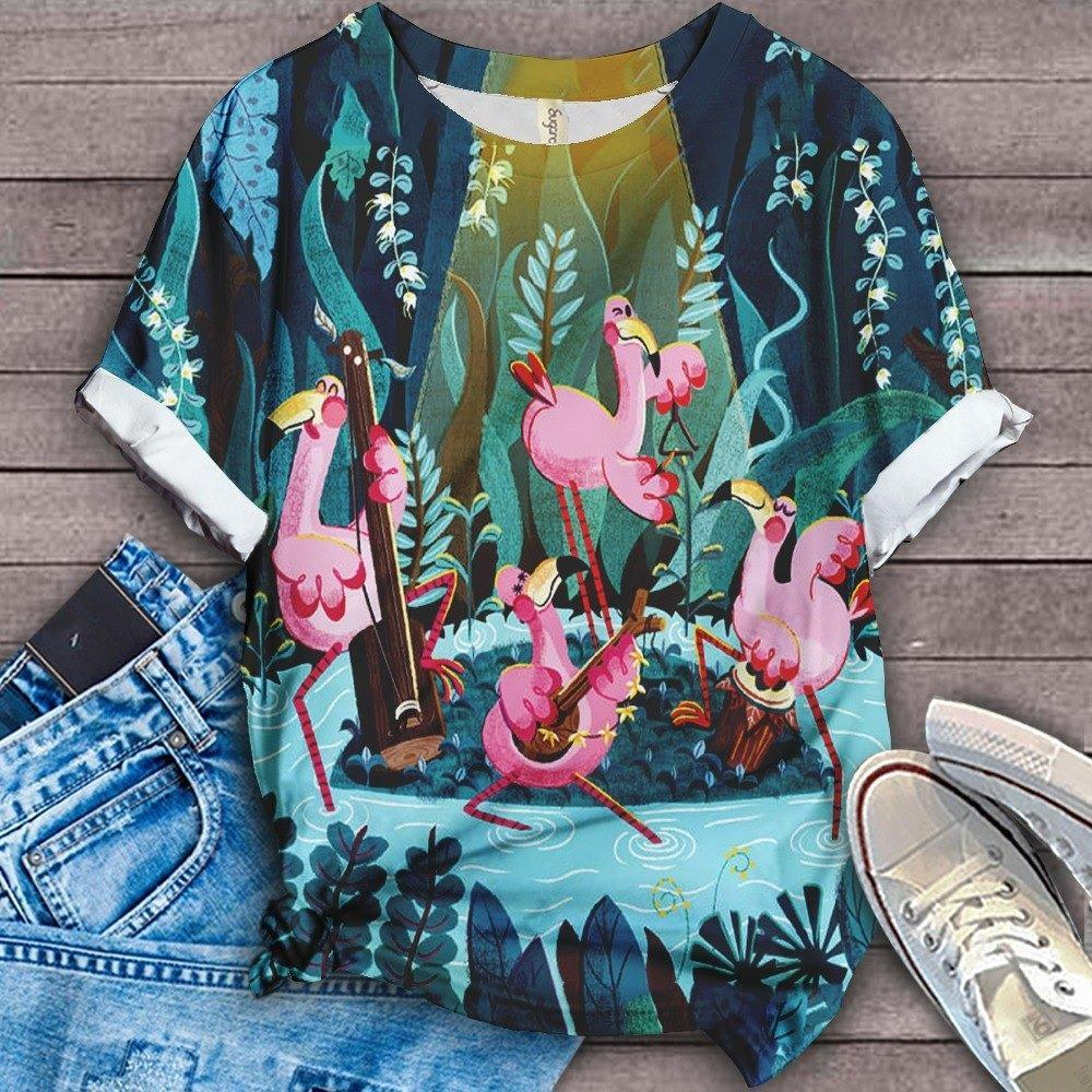 Flamingo Lovers Classic T-Shirt 16
