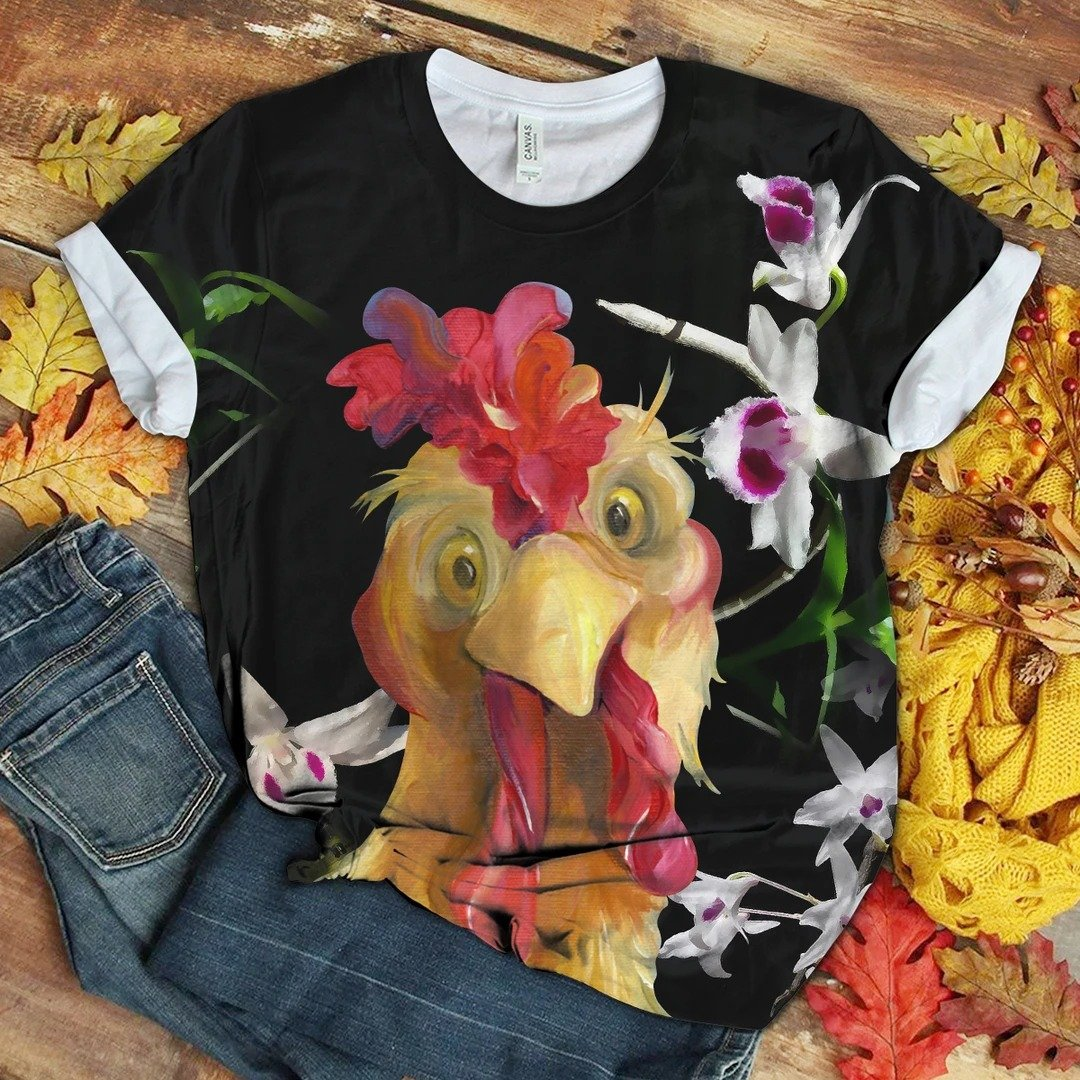 Chicken Fabulous Unique Design Art T-Shirt 18