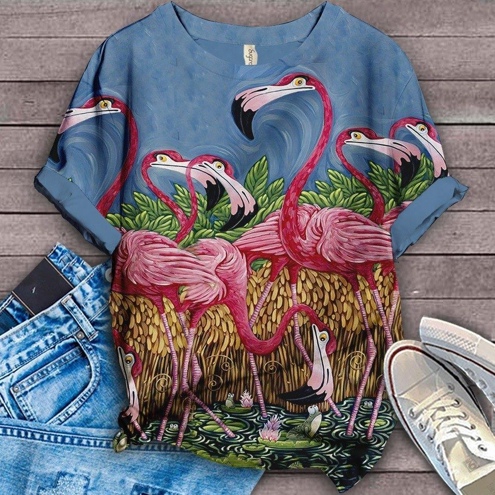Flamingo Lovers Classic T-Shirt 12
