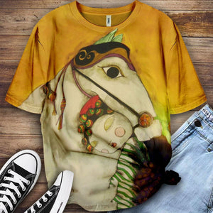 Horse Lovers Gorgeous Art T-Shirt 28
