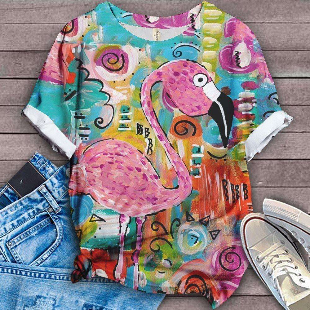 Flamingo Lovers Classic T-Shirt 23